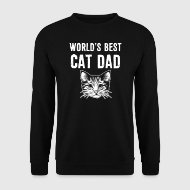 Worlds best Cat Dad - Men's Sweatshirt