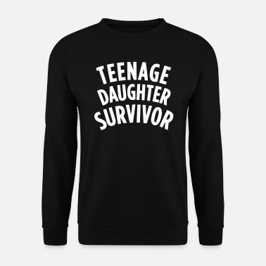 Teenager TEENAGE DAUGHTER SURVIVOR Manches longues - Sweat-shirt Homme