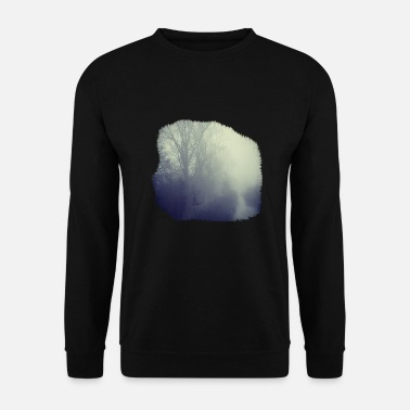 Nebel Mystic Woods - Countryside Design - Männer Pullover