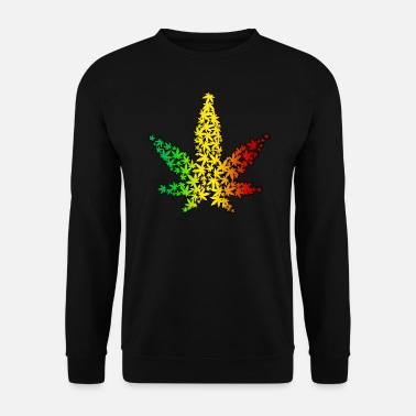Leaf Rasta Leaf - Sweat-shirt Homme