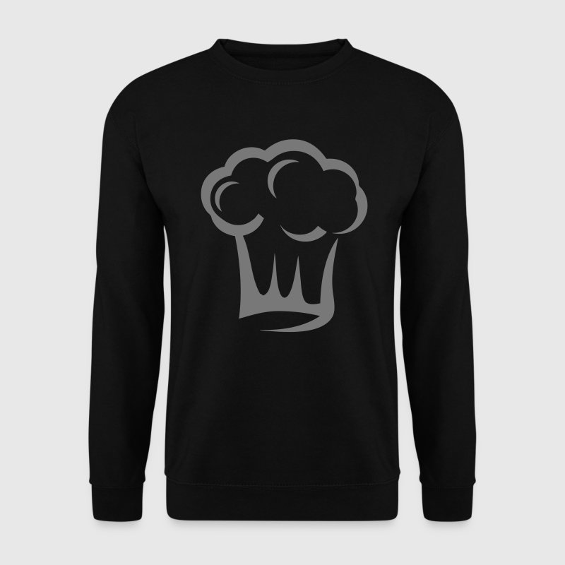 toque cuisinier chef cuisto 2406 - Sweat-shirt Homme