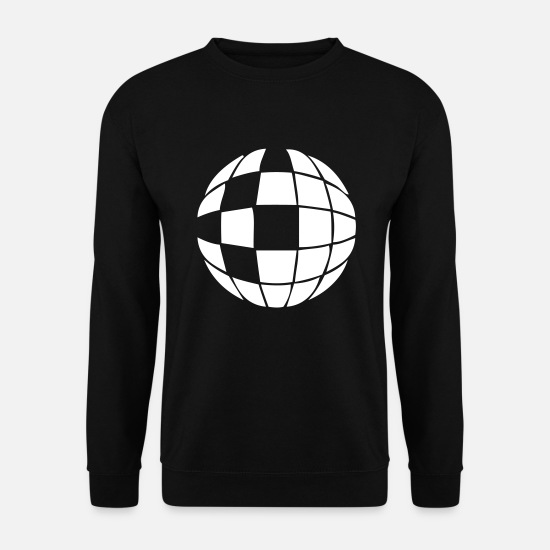 Gift Idea Hoodies & Sweatshirts - Disco ball disco ball - Men's Sweatshirt black