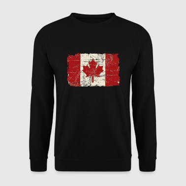 Canada Flag - Vintage Look - Mannen sweater