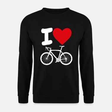 Vélo Amour de vélo de route - Sweat-shirt Homme