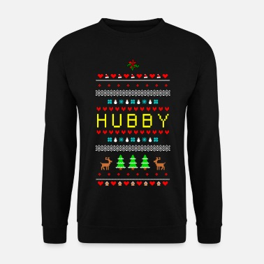 Partnerlook A Ugly Christmas Hubby Husband man - Herre sweater
