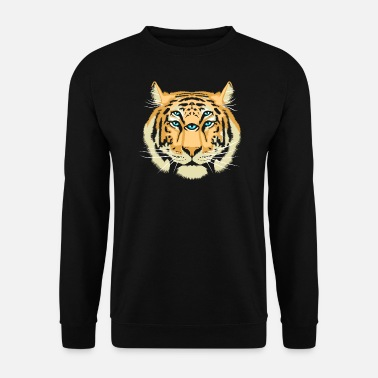 Trippy Tiger Spirit Guide - Men's Sweatshirt