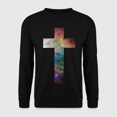 galaxy cross - Men's Sweatshirt