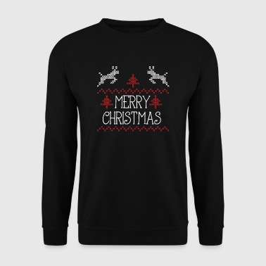 Merry Christmas design II - Sweat-shirt Homme