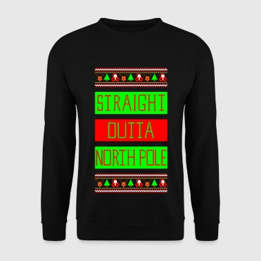 Straight Outta NorthPole Ugly Christmas Sweater - Mannen sweater