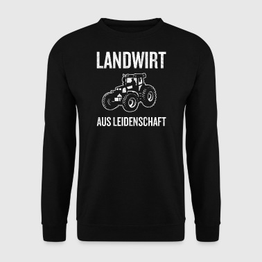 Agriculteur de cadeau passion - Sweat-shirt Homme