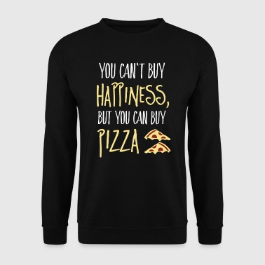 Pizza Cant buy happiness, but pizza - Sweat-shirt Homme