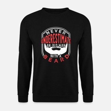 Facial Hair Beard facial hair mustache - Men's Sweatshirt