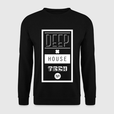 Deep House Techno - Männer Pullover