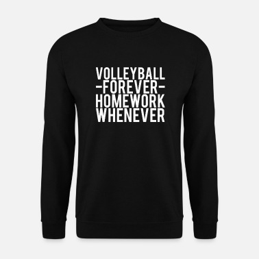 volley-ball - Sweat-shirt Homme