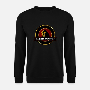 Monkey Monkey Power Coffee - Gift Idea - Men's Sweatshirt