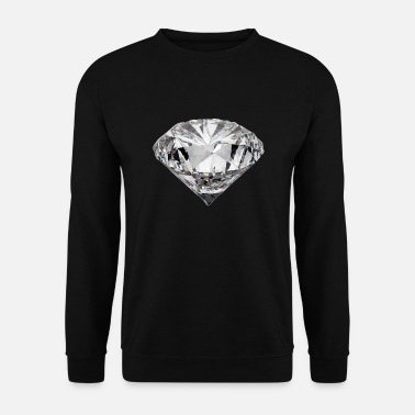 Diamanter Diamond Ædelsten Gave Rich Bling Rap Kærlighed - Herre sweater