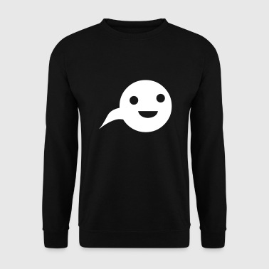 Cartoon tadpole - Men's Sweatshirt
