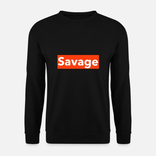 Sauvage Sweat-shirts - sauvage - Sweat-shirt Homme noir