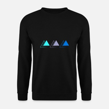 Triplé triple pyramide - Sweat-shirt Homme