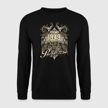 Since Made in 1949 aged to perfection - retro birthday gift present - RAHMENLOS - Männer Pullover