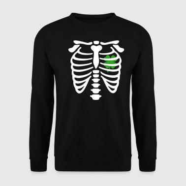Shamrock X-ray Irish Shamrock heart - Männer Pullover