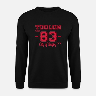 Toulon Toulon city of rugby - Sweat-shirt Homme
