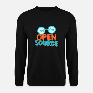 Open Je suis open source - Sweat-shirt Homme