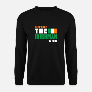 National Keep Calm Ireland / Gift National Colours - Sweat-shirt Homme