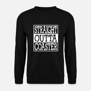 Roller Straight Outta Roller Coaster - Sweat-shirt Homme