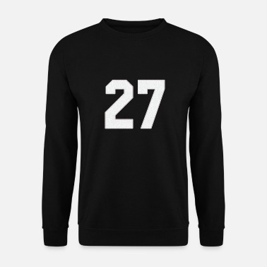 Jersey Number Baseball Sports jersey number / Jersey Number 27 - Men's Sweatshirt