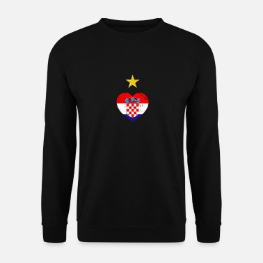 Champion du monde de football Croatie - Sweat-shirt Homme