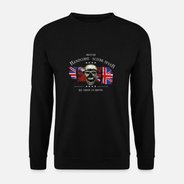 Divers Diver British Extreme Diver - Sweat-shirt Homme