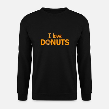 I Love New York J'adore les beignets - New York City - USA - pancakes - Sweat-shirt Homme
