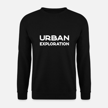 Perdu Exploration urbaine - Sweat-shirt Homme