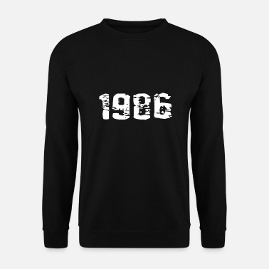 Birth Year of birth 1986 - Men's Sweatshirt