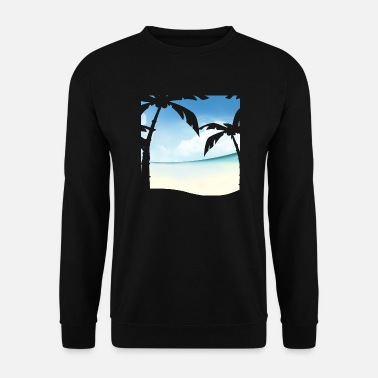 Palm Paradise - Men's Sweatshirt