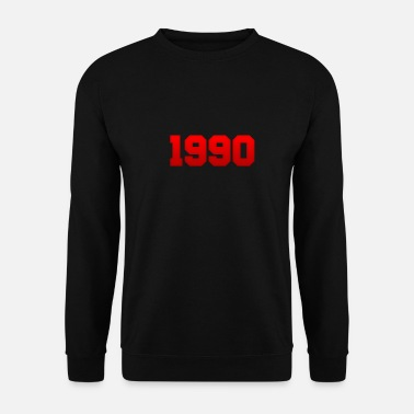 Birth 1990, year of birth, birthday, gift idea, year - Men's Sweatshirt