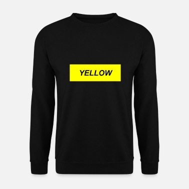 Jaune JAUNE - Sweat-shirt Homme