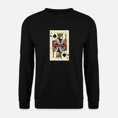 Cards Jack Card Poker Card - Sweat-shirt Homme