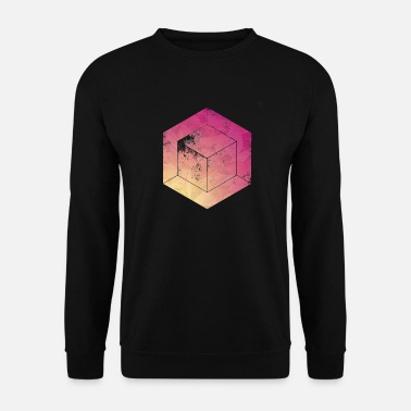 Cube cubes - Sweat-shirt Homme