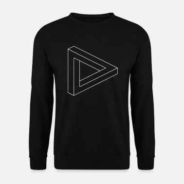 Hallucination Illusion d'optique hallucination - Sweat-shirt Homme