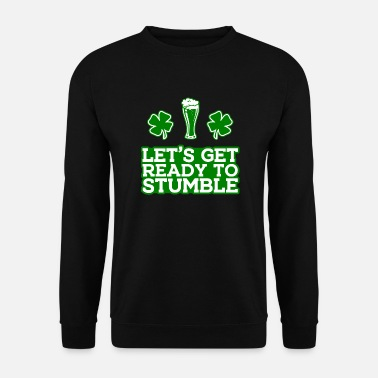 Sint St. Patrick's Day Drink Alcohol Beer Ireland - Mannen sweater