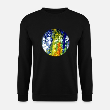 Psytrance space - Sweat-shirt Homme