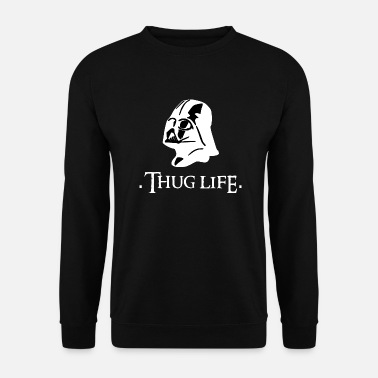 Vader Thuglife Life Gangster, Dark Side, Darth - Bluza bez kaptura męska