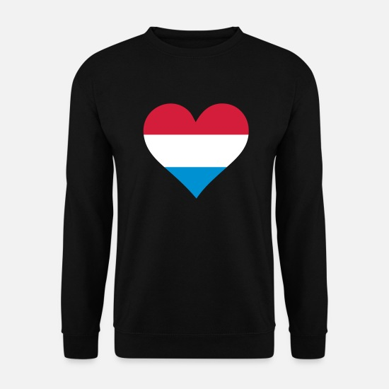 Frank Hoodies & Sweatshirts - A Heart For Holland - Men's Sweatshirt black