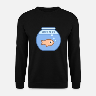 Sushi Go Sushi-To-Go (Fish Bowl-editie) - Mannen sweater