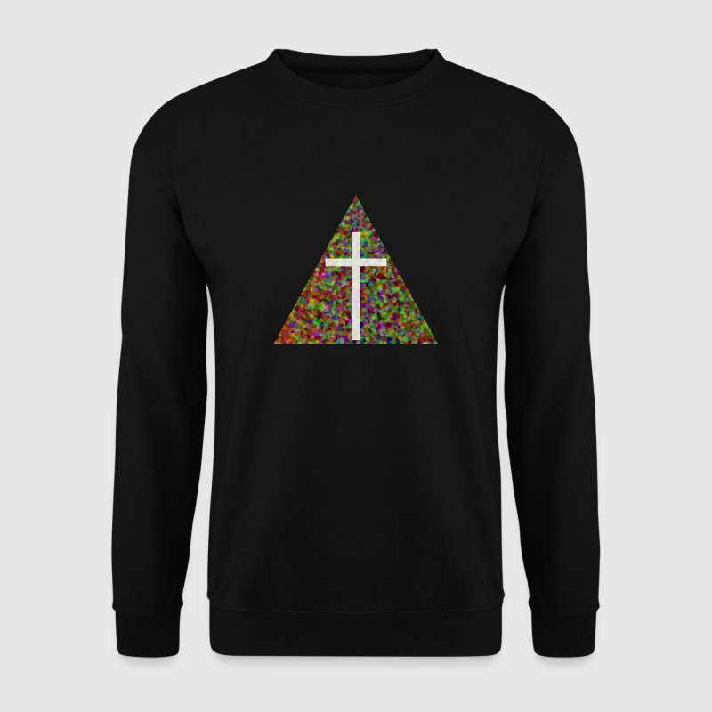 Croix Triangle - Sweat-shirt Homme