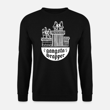 Emballage Gangsta Wrapper - papier d'emballage carton d'emballage - Sweat-shirt Homme