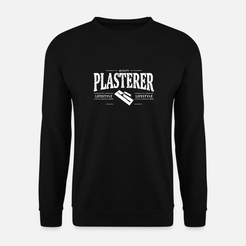 Plasters Hoodies & Sweatshirts - Plasterer - Men's Sweatshirt black