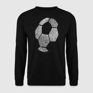 Fußball Fingerprint - Soccer Fingerprint -Team-DNA - Herre sweater